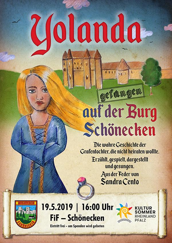"""Uraufführung """"Yolanda, gefangen auf der Burg Schönecken"""" @ Forum im Flecken"""
