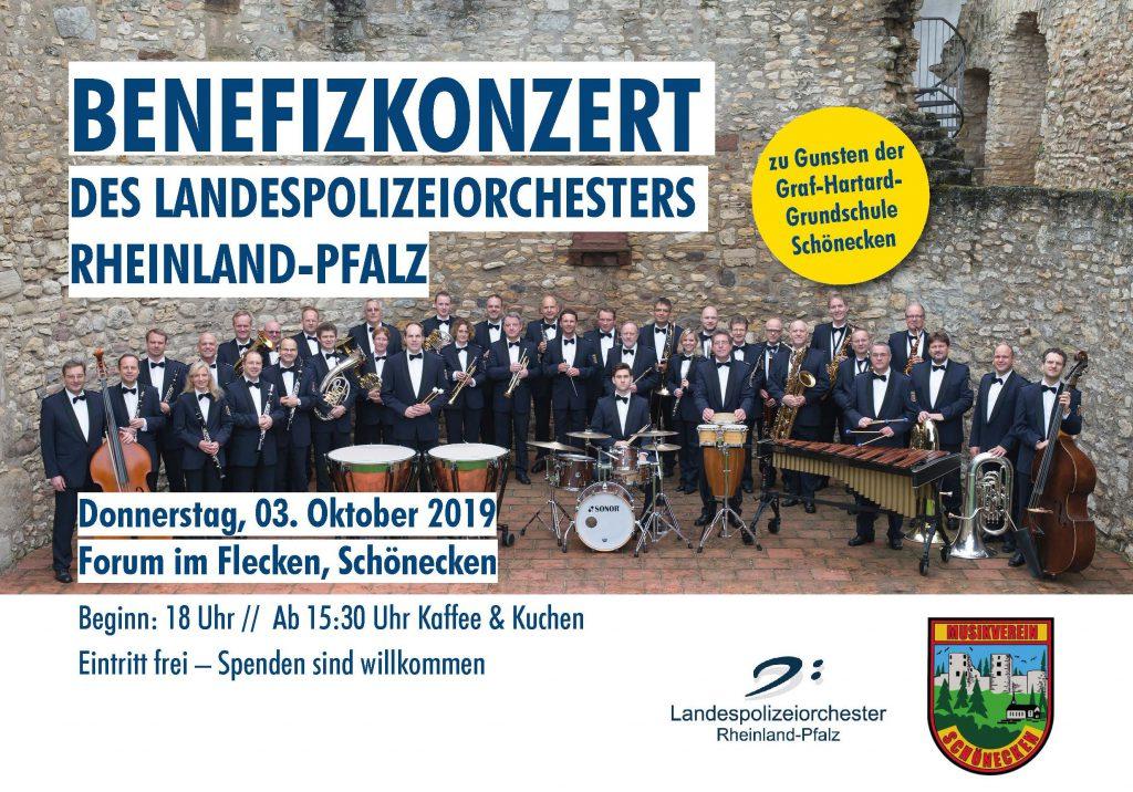 Konzert des Landespolizeiorchester Rheinland-Pfalz @ Forum im Flecken