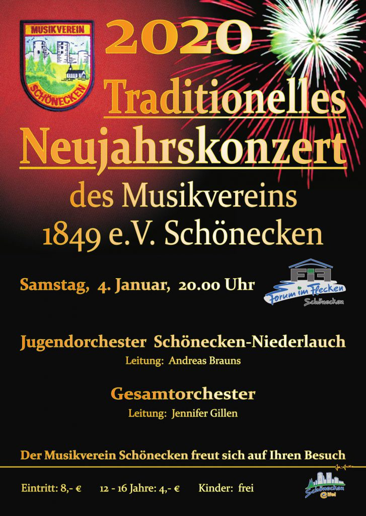 Traditionelles Neujahrskonzert @ Forum im Flecken